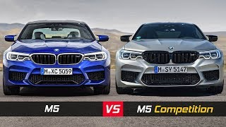2019 BMW M5 Vs M5 Competition ► See The Differences