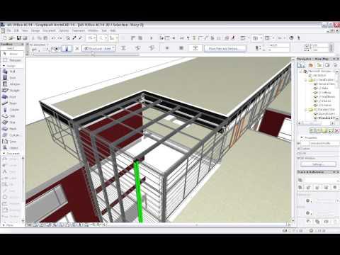 GRAPHISOFT ArchiCAD - TEKLA Structures Presentation - Parts 1-3
