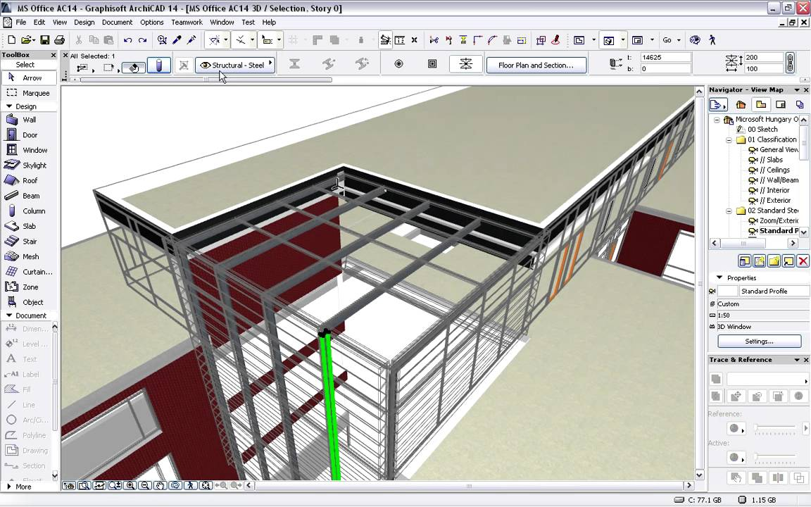 Graphisoft Archicad Tekla Structures Presentation