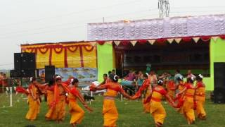 bodo folk dance from dorogaon landang bwisagu