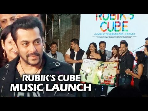 Salman Khan At Mahesh Manjrekar's RUBIK'S CUBE Music Launch