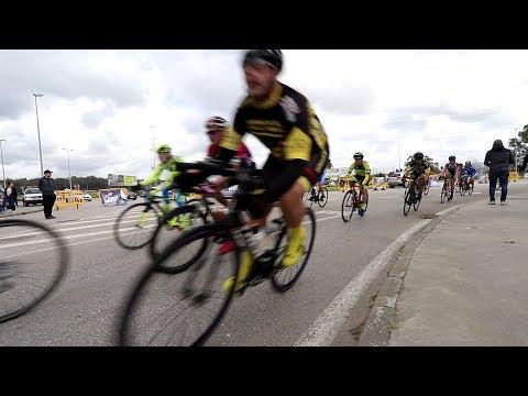 🎥 #CICLISMO Nuevo éxito del Giro Bahía Plaza de ciclismo