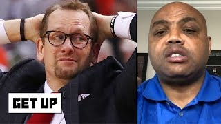Criticizing Nick Nurse's late timeout is 'foolish, stupid and asinine' - Charles Barkley | Get Up
