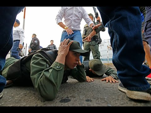 Así desertaron militares venezolanos del régimen de Maduro | Noticias Caracol