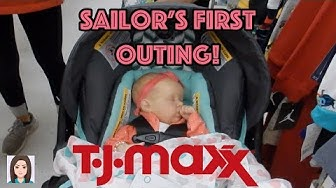 Reborn Baby Sailor's First Outing! Baby In TJ Maxx!