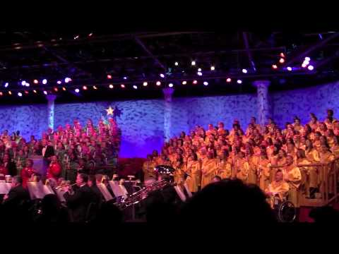 Brian Dennehy; Candlelight  Procession; Hallelujah Chorus; Epcot Center 12 09