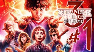 Stranger Things 3 The Game - Parte 1: Bem-Vindo a Hawkins!!!! [ PS4 Pro - Playthrough ]