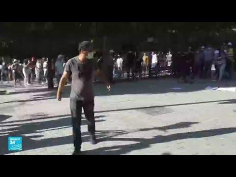 تونس: مواجهات بين قوات الأمن ومتظاهرين عقب مسيرة مناهضة -لعنف الشرطة-  - 08:55-2021 / 6 / 13