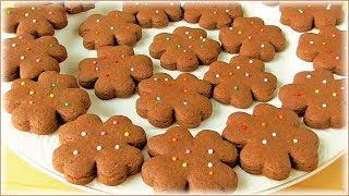 Удачный рецепт шоколадного печенья + вариант декора