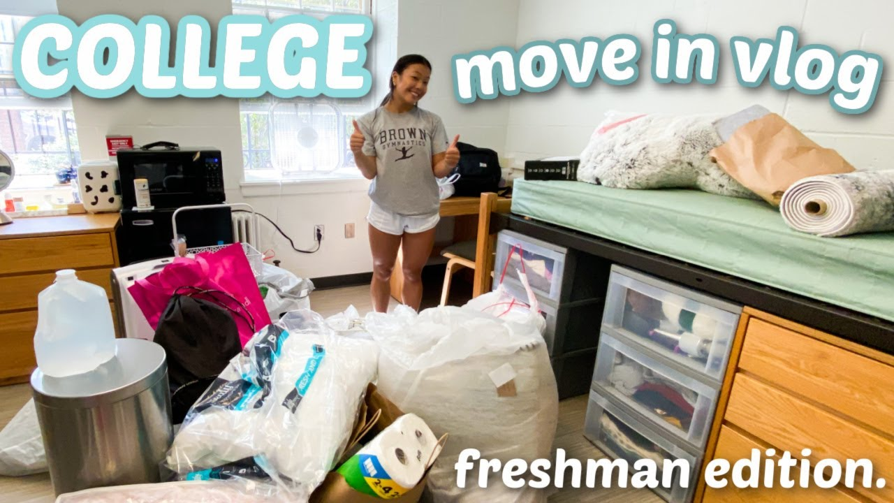 Download MOVE IN TO BROWN UNIVERSITY WITH ME!! (freshman edition.)