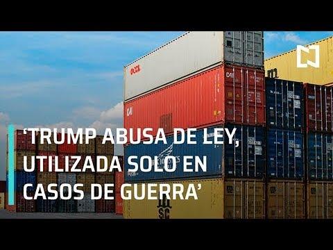 Trump abusa de ley al aplicar aranceles a México: Luis de la Calle - Despierta con Loret