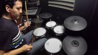 Roland TD 25KV - Bruno Mars / 24k magic drum cover