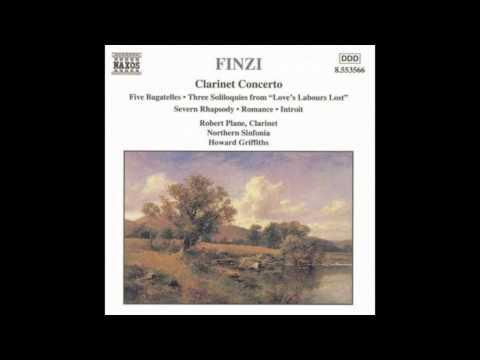 Gerald Finzi - 5 Bagatelles Op.23 V.mov