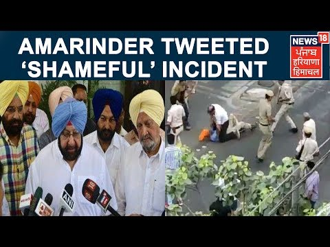 Amarinder tweeted about the 'shameful' incident. | Sikh Driver In Mukherjee Nagar In Delhi