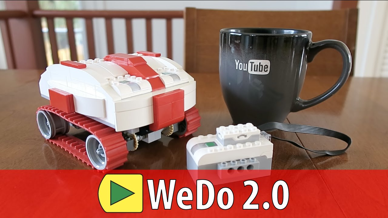 Milo the little robot | WeDo 2.0 - YouTube