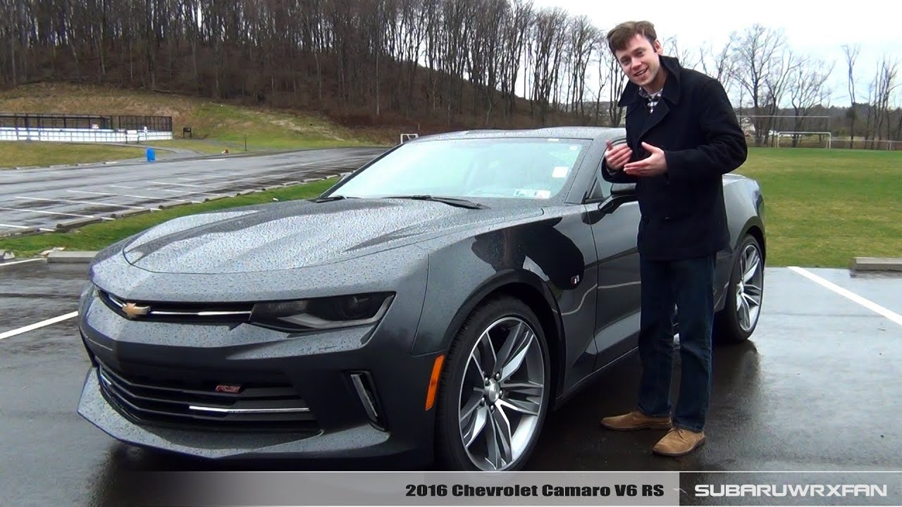 Review 2016 Chevrolet Camaro V6 Rs