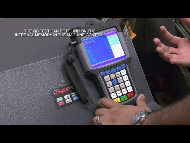Smartshop M2 Part 5 of 5, Auto Touchoff, Run the QC Test