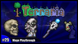 Let's Play Terraria 1.2.4 || Mage Class Playthrough || The Magical Weapon Hunt! [Episode 25]