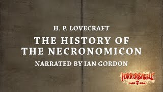 quot;The History of the Necronomiconquot; by H P Lovecraft  Cthulhu Mythos (1314)