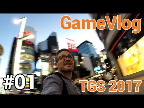 GameVlog spécial TGS 2017 #01 : Arrivée à Tokyo
