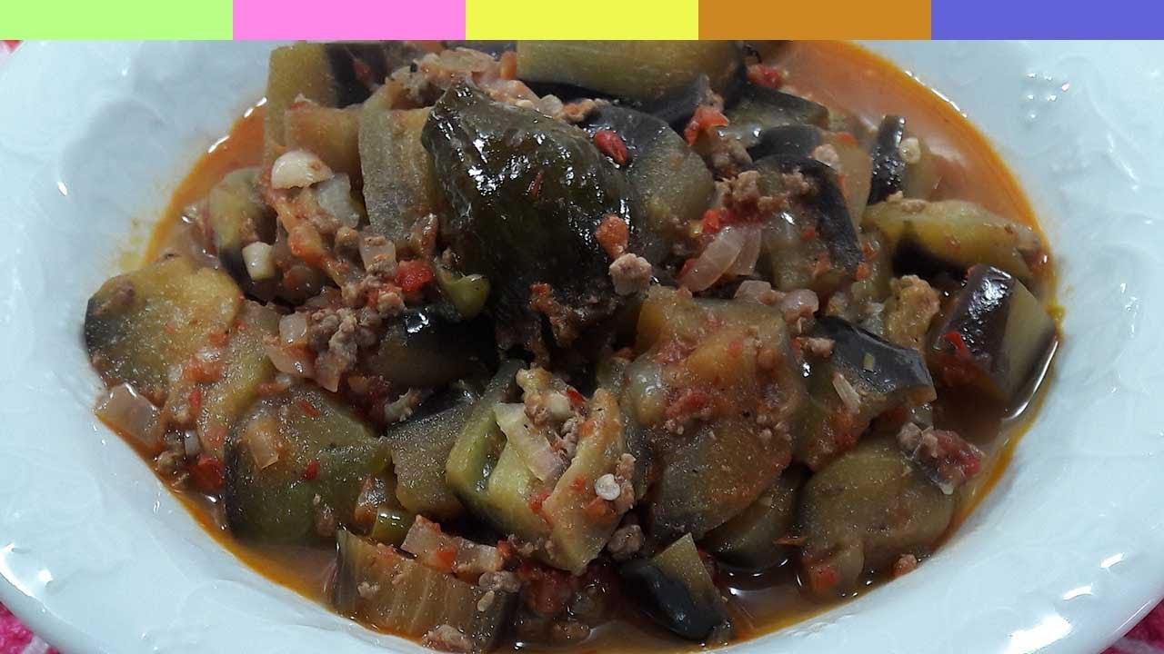 Kıymalı Patlıcan Yemeği Videosu
