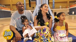 Gambar cover Vanessa Bryant's and Jeanie Buss' heartfelt Instagram posts about Kobe and Gianna Bryant   The Jump