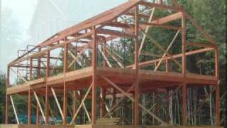 Post And Beam Slide Show - Yankee Barn Homes - Timber Frame