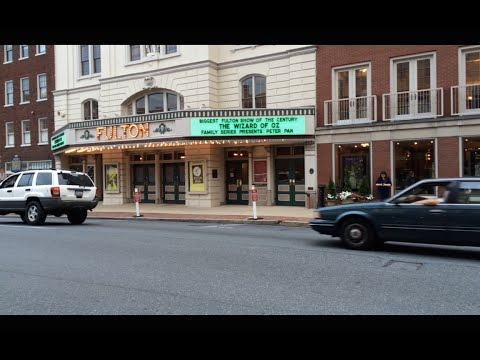 A Tour Of Downtown Lancaster City, PA