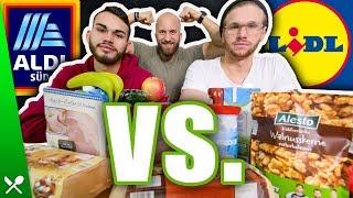 Wer ist billiger - ALDI oder LIDL? Fitness Essen im Vergleich!