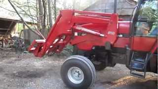 case ih 5140 cab tractor loader 109 hp diesel vg tires mechanical for sale 21 500 new price