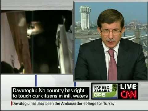 Turkish Foreign Minister Ahmet Davutoglu on deteriorating ties w/ Israel.  - Part 1 - June 6, 2010
