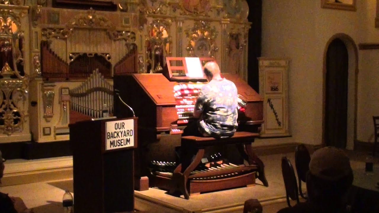 stephen brittain theatre pipe organ solo this could be the start