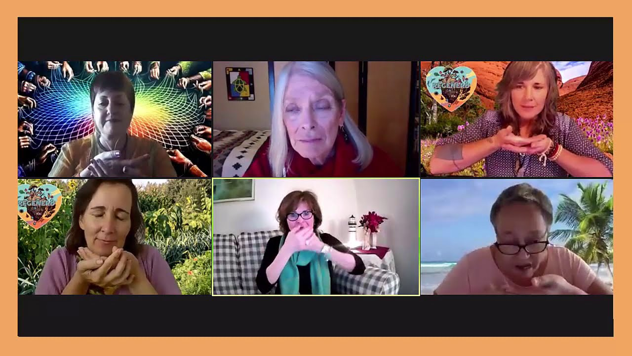 CONNECT TO SACRED   WOMEN CREATING THE REGENERATIVE FUTURE