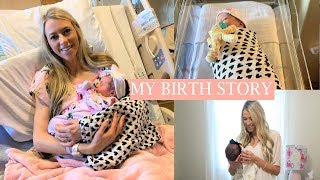 MY POSITIVE BIRTH STORY | SCHEDULED C-SECTION (BREECH BABY) | ERICA LEE