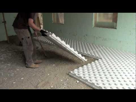 Radiant Heat Insulation  Installation Video  YouTube