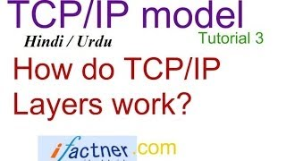 TCP/IP Layers : How do TCP IP layers work in Hindi Urdu, TCP/IP model protocol suite tutorial 3