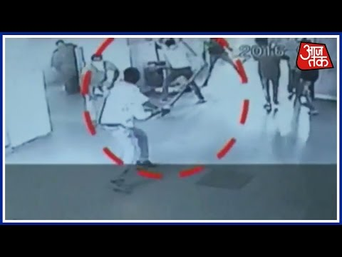 CCTV Cameras In Kurukshetra Hospital Captures Student Clash