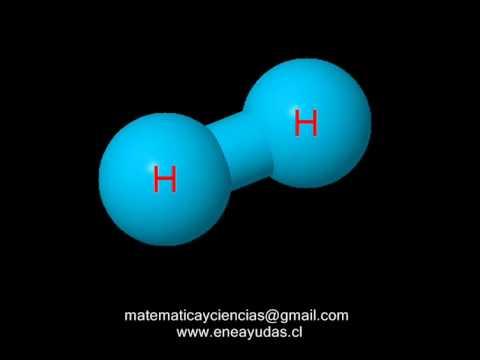 Resultado de imagen de La molécula del hidrógeno