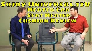 Sojoy Universal 12V Heated Car Seat Heater Cushion Review