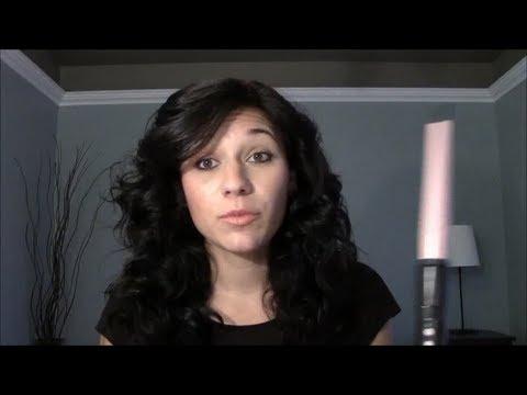 comment se friser les cheveux rapidement et facilement avec un curling wand youtube. Black Bedroom Furniture Sets. Home Design Ideas