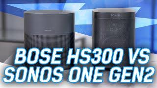 Bose Home Speaker 300 vs SONOS One: Battle Of The Small Smart Speakers
