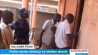 Poliisi ekutte ekibinja ky'ababba abantu