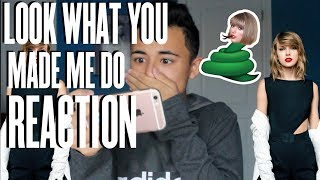 TAYLOR SWIFT- LOOK WHAT YOU MADE ME DO MUSIC VIDEO REACTION