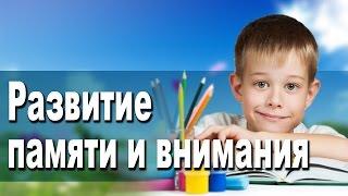 Курс 'Развитие памяти и внимания'  в школе Дениса Васильева (повышаем успеваемость в старшей школе)