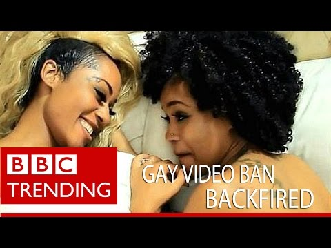 How Kenya's 'gay love' video ban backfired - BBC Trending