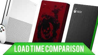 Xbox One Hard Drive/Game Drive/SSD Load Time Comparisons