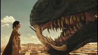 爱神动动手指,便将远古巨蛇直接杀死,古埃及神明简直无敌!