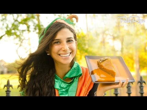 FullyRaw Pumpkin Pie!