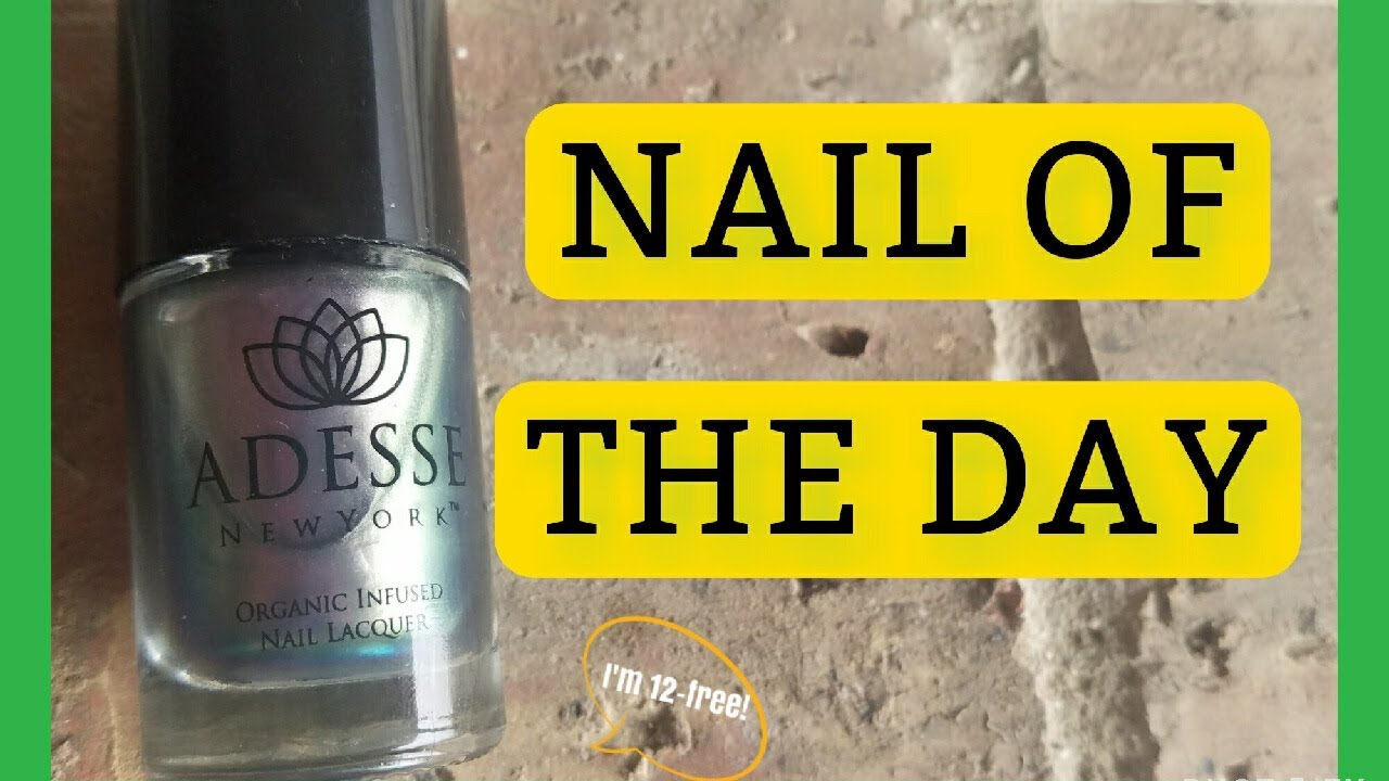 SWATCH MY STASH | NOTD Nail Of The Day Luxury Nail brand - YouTube