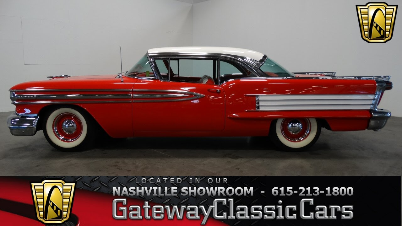 1958 Oldsmobile Super 88-Gateway Classic Cars-Nashville #170
